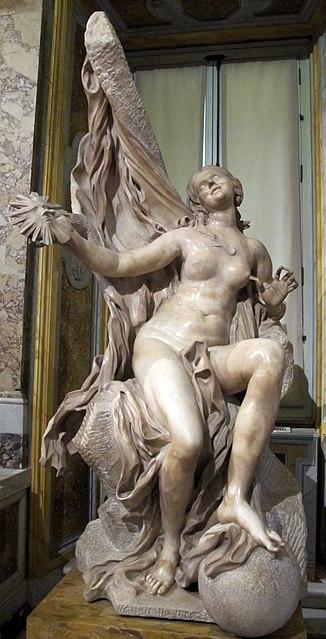5. Bernini Verità svelata Villa Borghese sala del gladiatore 1645 52