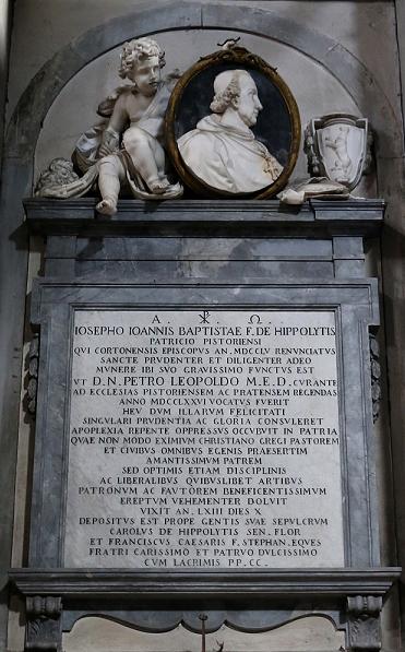 9. A. Carradori F. Monumento funebre del vescovo Giuseppe Ippoliti