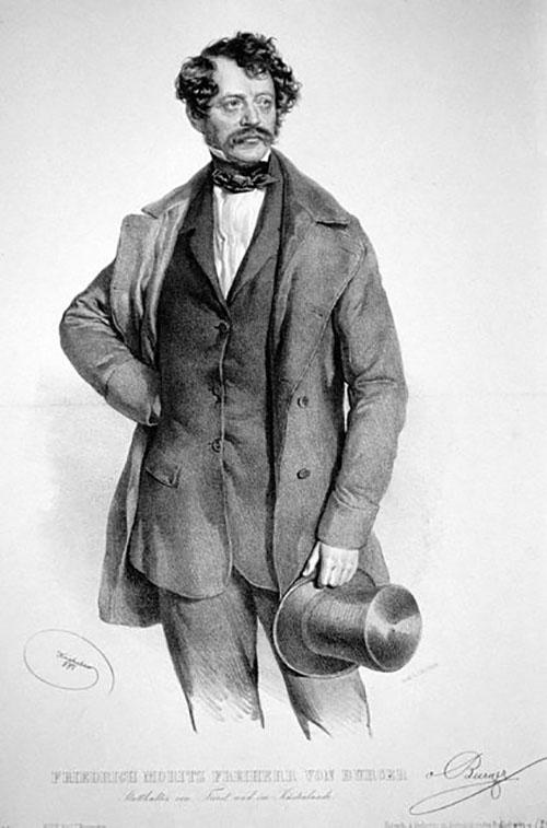 josef-kriehuber-friedrich-moritz-von-burger-litografia-1851