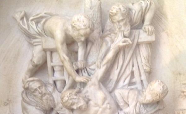cassier-e.-discesa-dalla-croce-rilievo-in gesso-francia-xix-xx-secolo