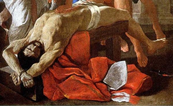 nicolas-poussin-martirio-sant'erasmo-1628-pinacoteca-vaticana