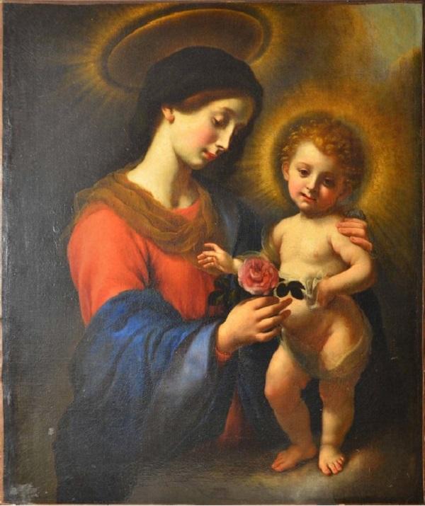 carlo-dolci-madonna-della-rosa-1630-luce-diffusa