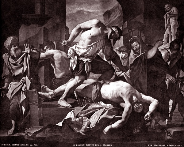 nicolas-poussin-martirio-sant'erasmo-1630-circa-dresda-gemaldegalerie