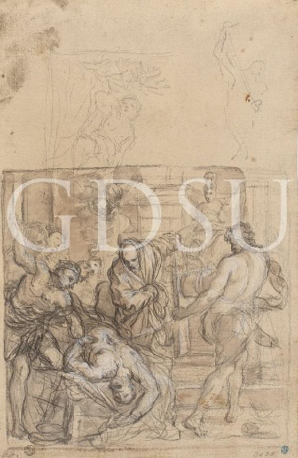 pietro-da-corona-martirio-sant'erasmo-1627-circa-firenze-uffizi-gabinetto-disegni-stampe