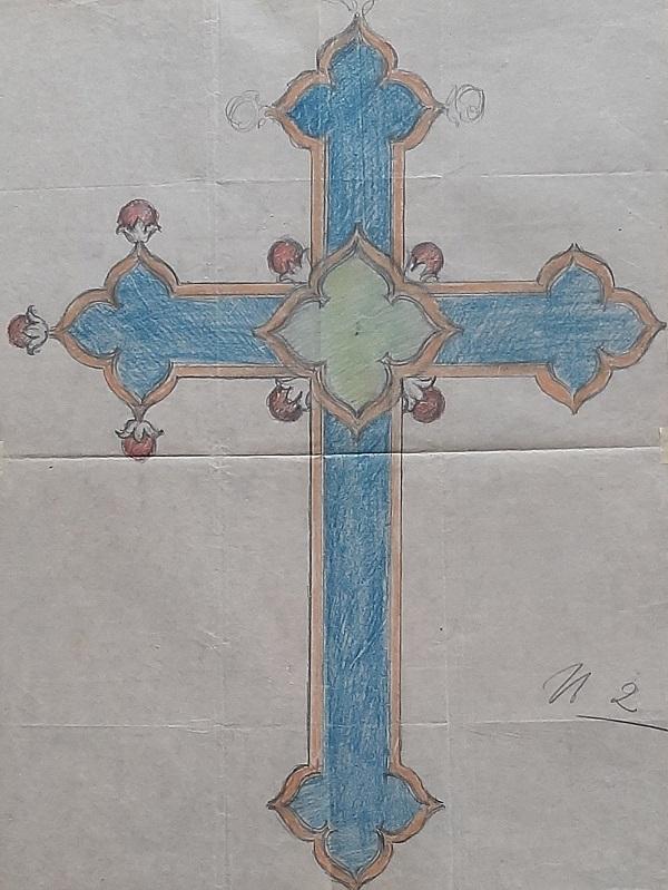 enea-stefani-croce-gotica-disegno-archivio-imbert