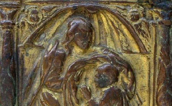 sant'ildefonso-placchetta-bronzo-spagna-prima-metà-xvi-secolo