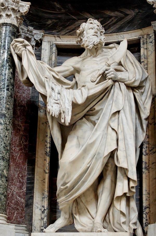 pierre-le-gros-il-giovane-san-bartolomeo-porcellana-roma-basilica-san-giovanni