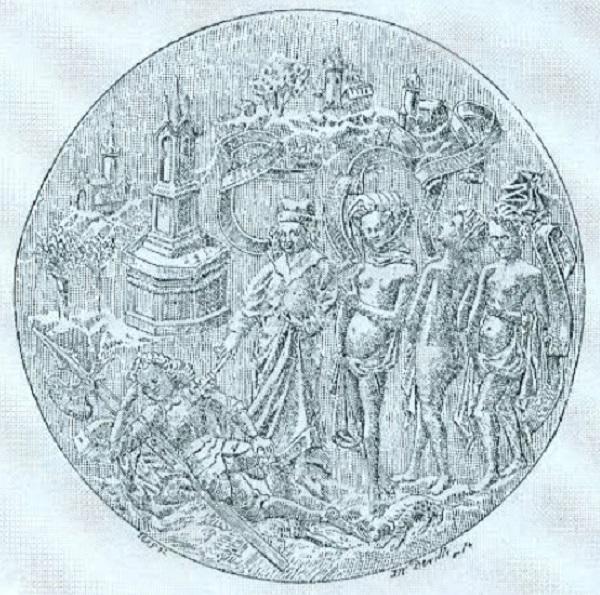 leggenda-del-re-di-mercia-medaglia-bronzo-collezione-spitzer