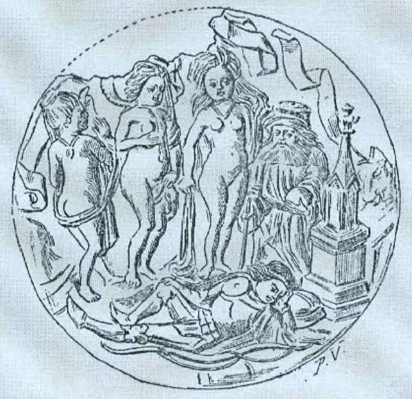 leggenda-del-re-di-mercia-placchetta-bronzo-collezione-courajod