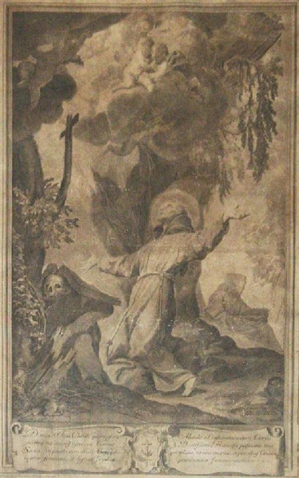 vincenzo-franceschini-san-francesco-riceve-le stigmate-1720-incisione
