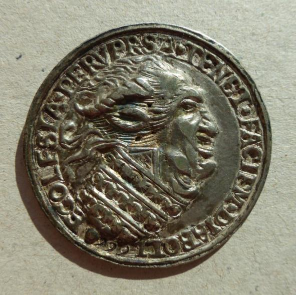 papa-demonio-666-cardinale-pagliaccio-medaglia-argento-roma-xvi-secolo