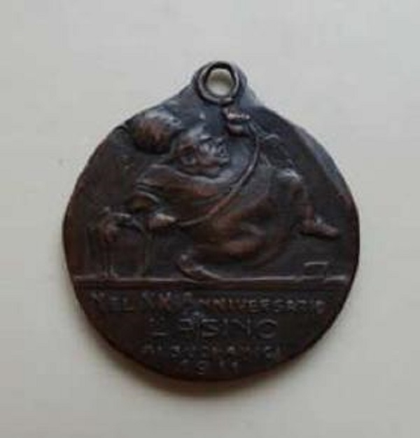 asino-suoi-amici-medaglia-sarcastica-torino-1911