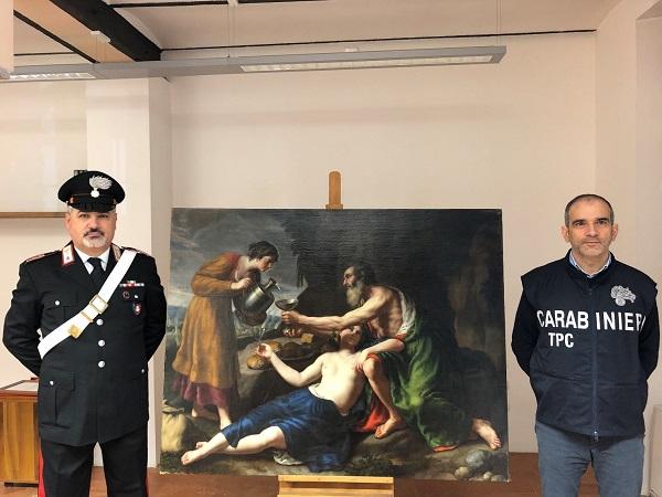 carabinieri-recupero-nicolas-poussin-le-figlie-di-lot