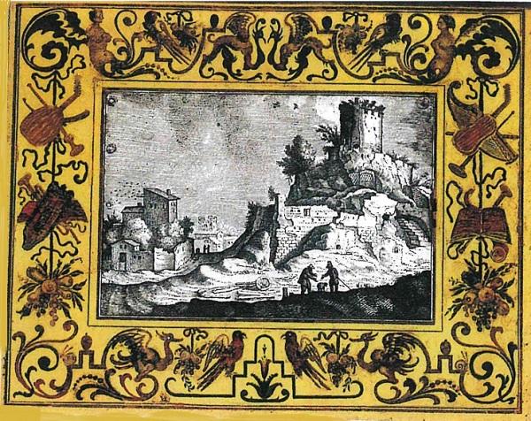 monogrammista-vbl-paesaggio-vetro-dipinto