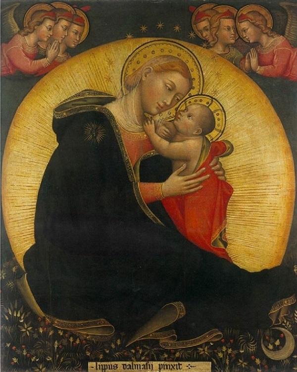 dalmasio-di-jacopo-degli-scannabecchi-madonna-dell'umiltà-1390-pistoia-national-gallery