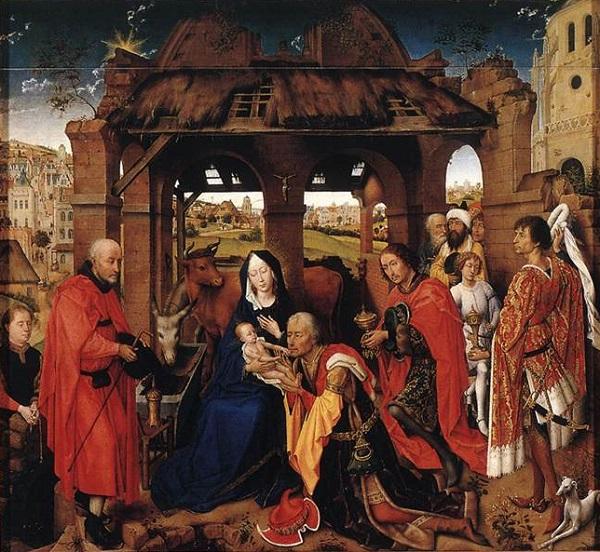 roger-van-der-weyden-trittico-santa-colomba-1455-olio-tavola-monaco-alte-pinakothek