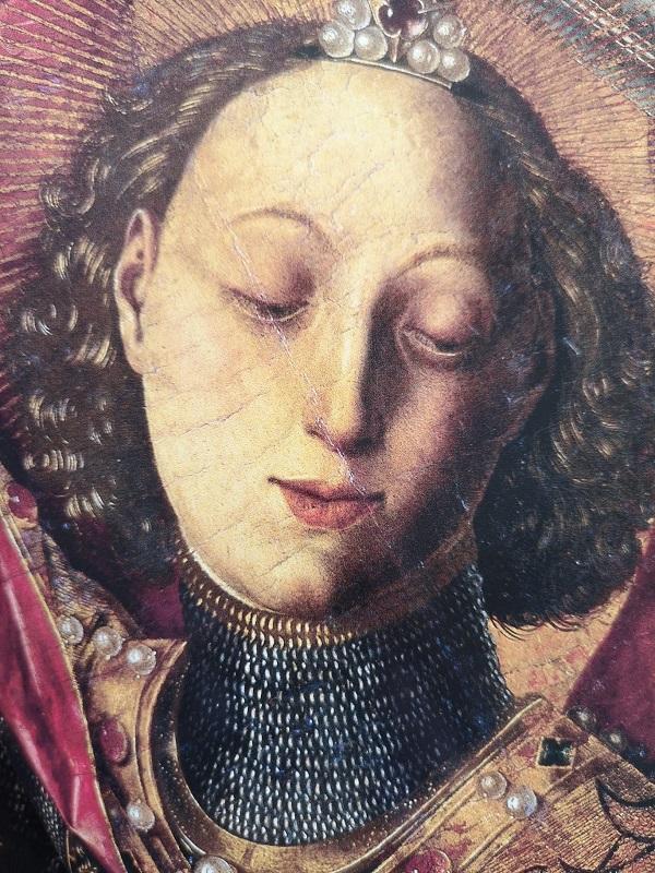 bartolomé-de-cárdenas-bermejo-san-michele-1468-londra-national-gallery