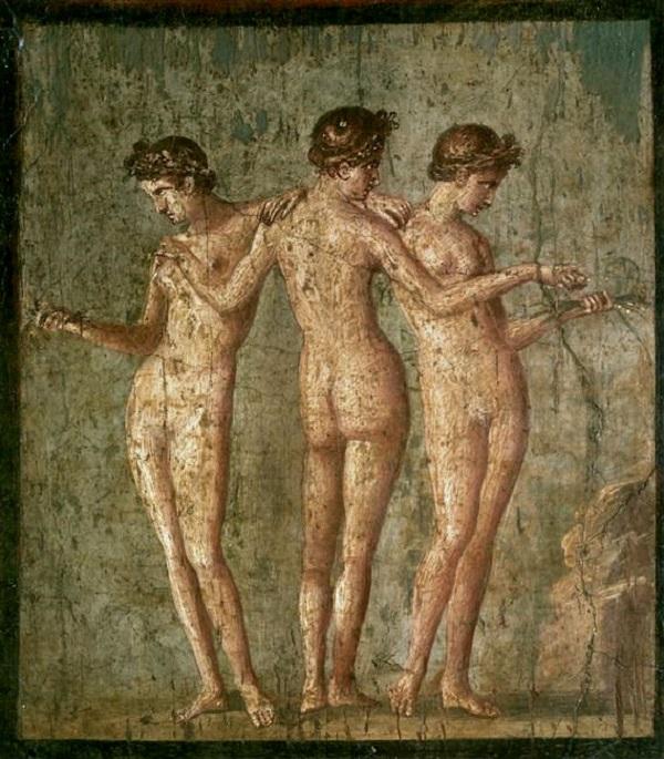tre-grazie-affresco-i-secolo-dc-iv-stile-napoli-museo-archeologico-nazionale